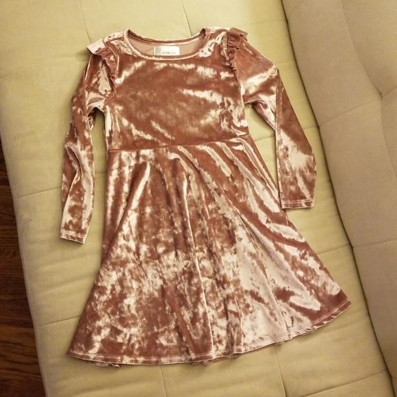 nickie lew Other - Girls velvet dress